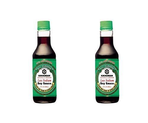 Kikkoman Light Soy Sauce, 10 Ounce (Pack of 2)