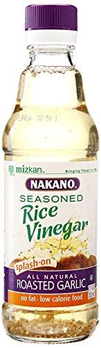 Nakano Seasoned Rice Vinegar with Garlic, 12 oz.