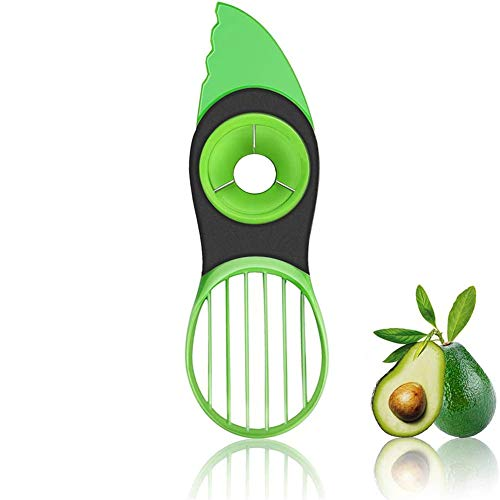 Avocado slicer, 3 In 1 Avocado Slicer Avocado Cutter