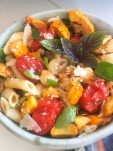 Roasted Summer Vegetables and Pasta