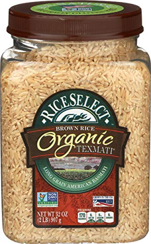 Riceselect, Rice Texmati Brown Organic, 32 Ounce