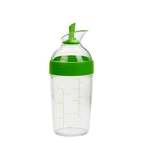 OXO Salad Dressing Shaker, One Size, Green