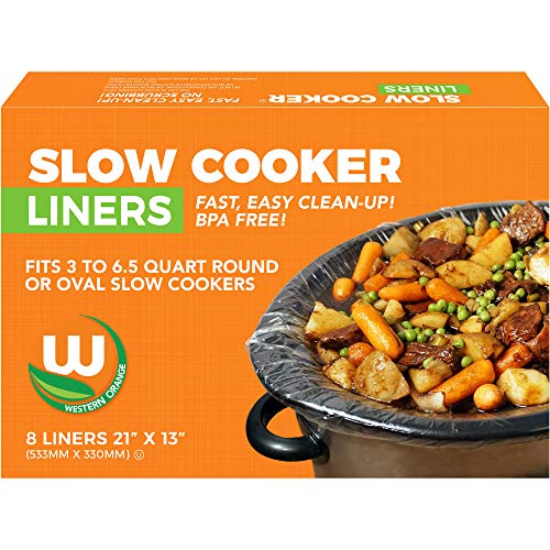 Heavy-duty Crockpot Liners BPA-free Made in the USA, 8 Liners 13