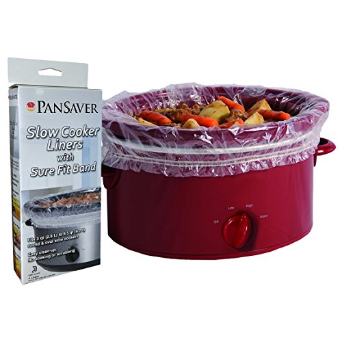 PanSaver 12 Pack Disposable Slow Cooker Liners