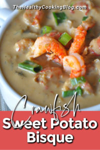 Crawfish Sweet Potato Bisque