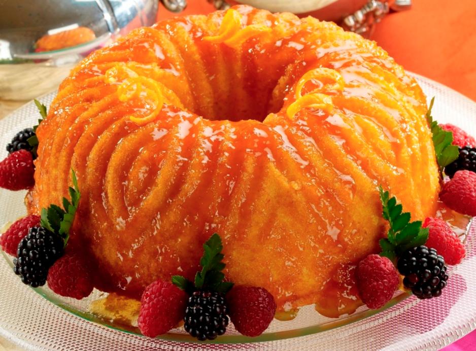 easy holiday dessert recipes sweet potato cinnamon orange glaze bundt cake healthy christmas recipe