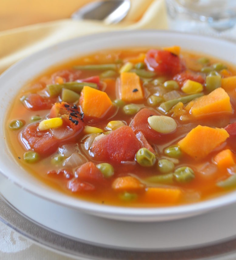 Easy Vegetable Soup: Quick Easy Vegetable Soup Recipe For Cancer Patients And