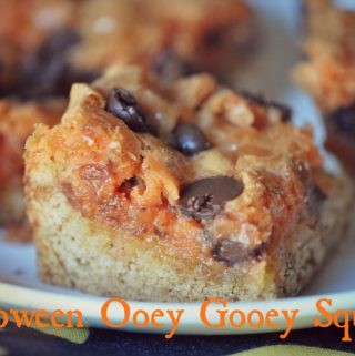 easy halloween treats recipe for ooey gooey bars
