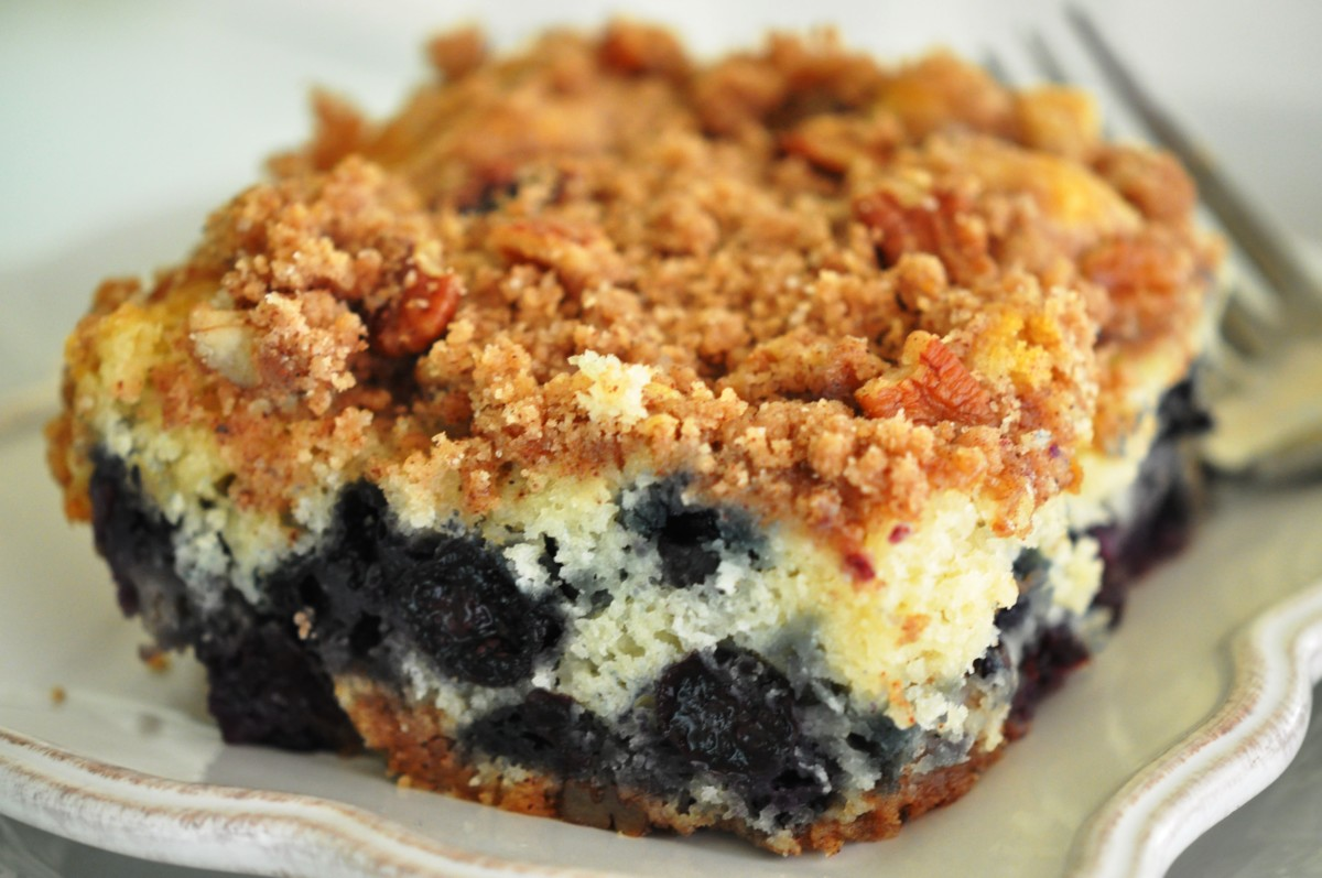 Best Ever Blueberry Streusel Coffee Cake