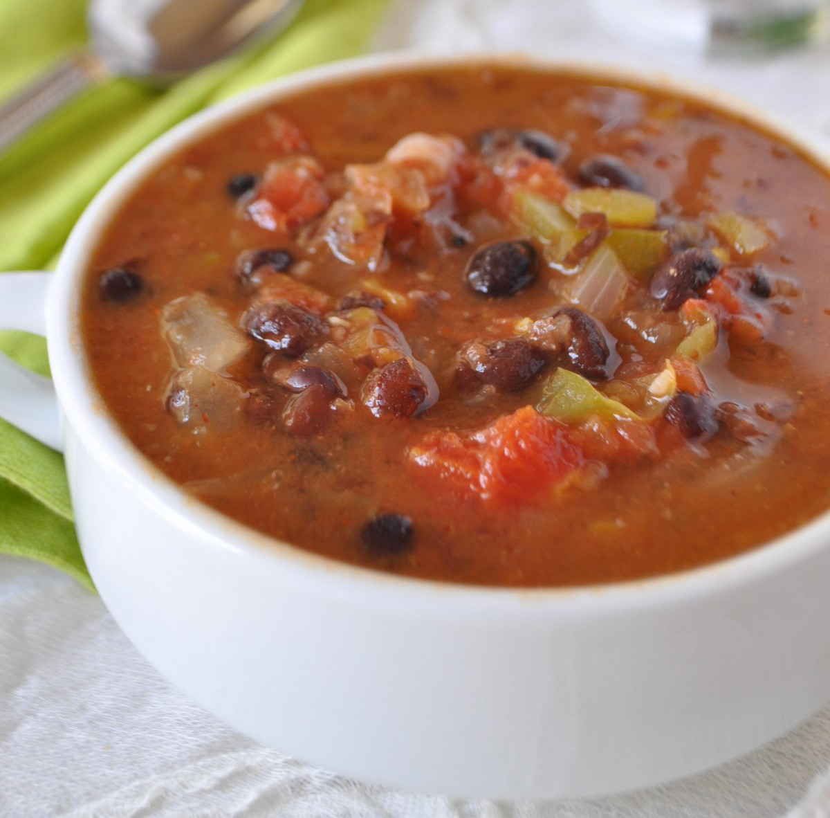 Easy Black Bean Soup Recipe Short Cut With Canned Beans Healthy