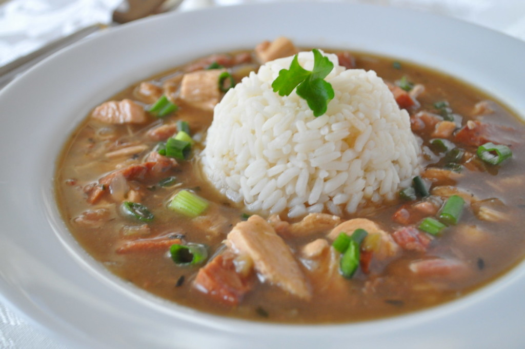 Easy Chicken And Sausage Gumbo Secret To Quick Gumbo Healthy Roux